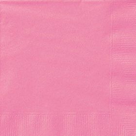 Hot Pink Beverage Napkins (20 Count)