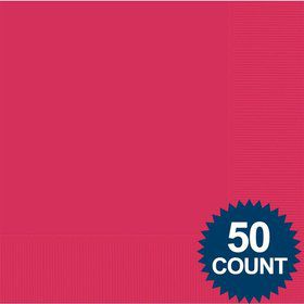 Hot Pink Luncheon Napkins (125 Pack)