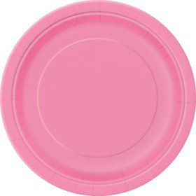 Hot Pink Luncheon Plates (16 Count)