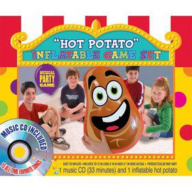Hot Potato Inflatable Game Set (Each)