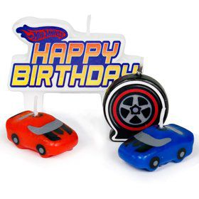 Hot Wheels Candles (4-Pack)