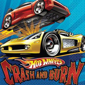 Hot Wheels Napkins (16-Pack)