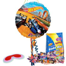 Hot Wheels Pull String Pinata Kit
