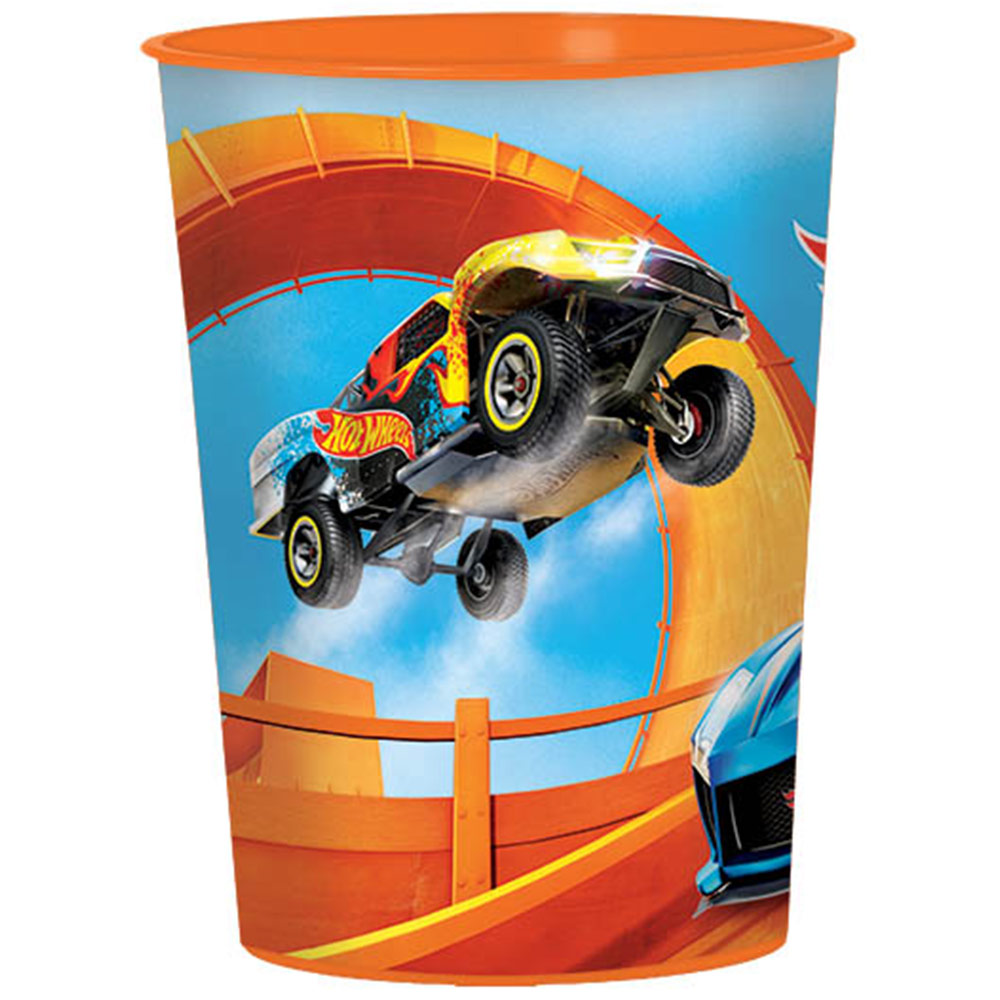 Hot Wheels Wild Racer 16Oz Plastic Favor Cup BB421551