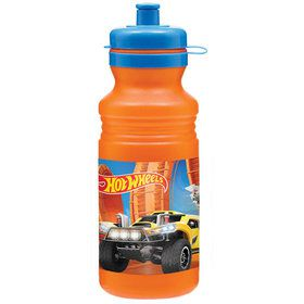 Hot Wheels Wild Racer 18oz Plastic Drink Bottle