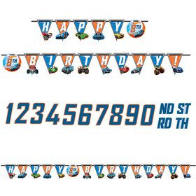 Hot Wheels Wild Racer Add-An-Age Banner (Each)