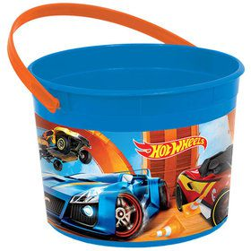 Hot Wheels Wild Racer Favor Container (Each)