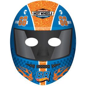 Hot Wheels Wild Racer Paper Masks (8 Count)