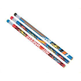 Hot Wheels Wild Racer Pencils (12 Count)