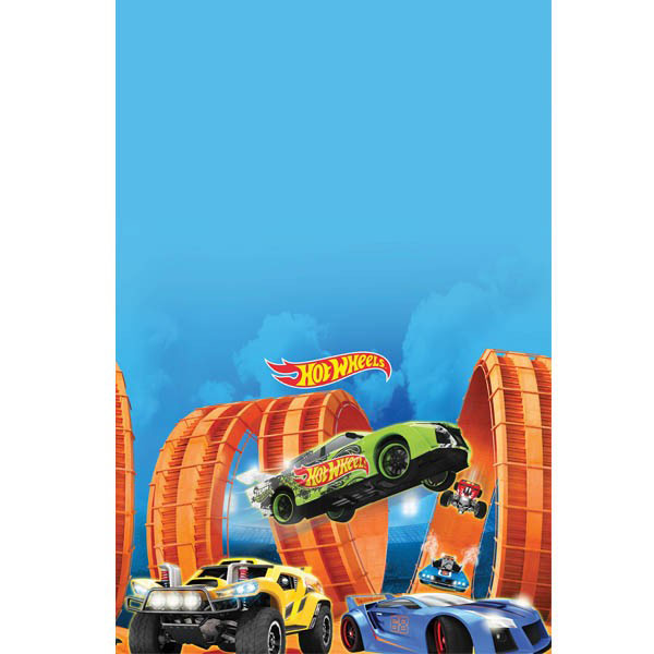 Hot Wheels Wild Racer Plastic Table Cover BB571551