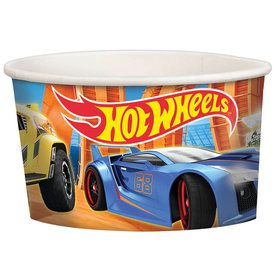 Hot Wheels Wild Racer Treat Cups (8 Count)
