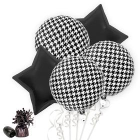 Houndstooth Balloon Bouquet Kit (Serves 8)