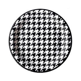 """Houndstooth Party Plates - 7"""" (8)"""