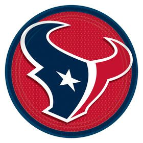 Houston Texans Lunch Plates (8)