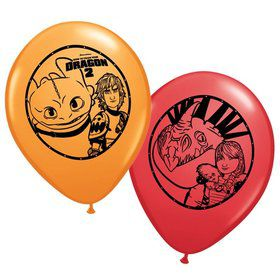 "How to Train Your Dragon 12"" Latex Balloon (6 Pack)"