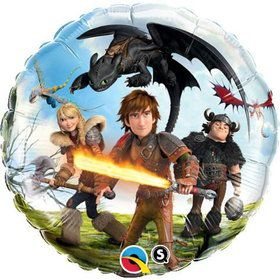 "How to Train Your Dragon 18"" Balloon (Each)"
