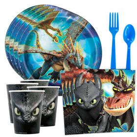 How to Train Your Dragon 3 Standard Tableware Kit (Serves 8)