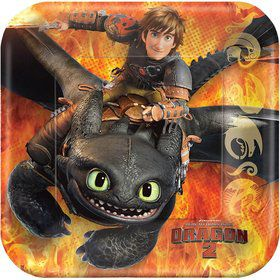 "How to Train Your Dragon 7"" Cake Plates (8 Pack)"
