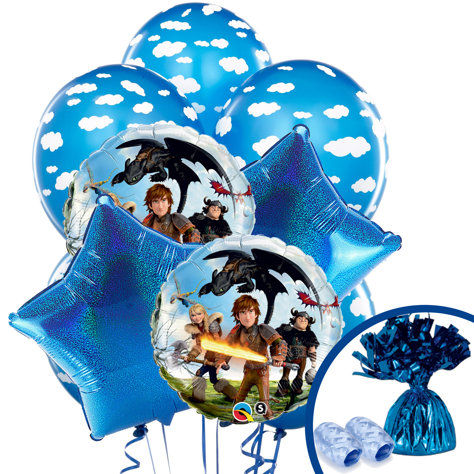 How To Train Your Dragon Balloon Kit (Each) BBBK129