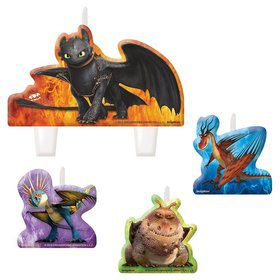 How to Train Your Dragon Candle Set (4 Pack)
