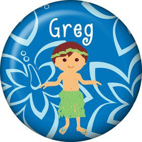 Hula Boy Personalized Mini Magnet (Each)