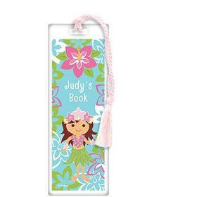 Hula Girl Personalized Bookmark (each)