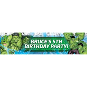 Hulk Personalized Banner (Each)