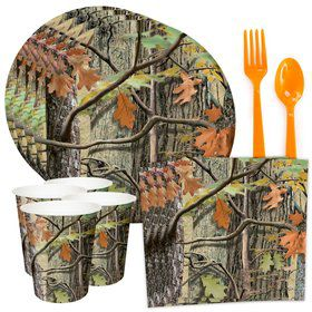 Hunting Camo Standard Tableware Kit