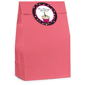 I love Cake Personalized Favor Bag (12 Pack)