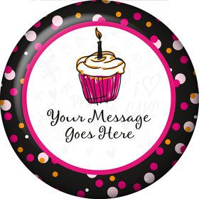 I love Cake Personalized Magnet (Each)