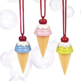 Ice Cream Bubbles Necklace (Each)