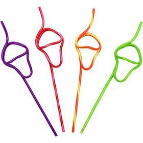 Ice Cream Cone Straw (4-pack)