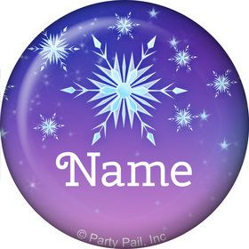 Ice Princess Personalized Mini Button (Each)