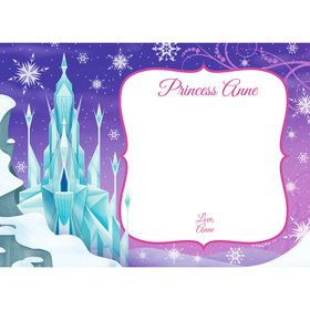 Ice Princess Personalized Thank You (Each)