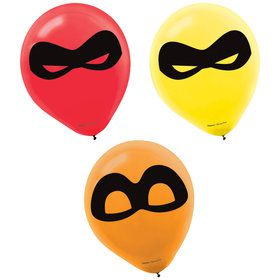 "Incredibles 2 12"" Latex Balloons (6)"