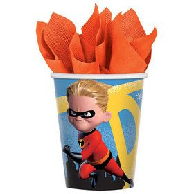 Incredibles 2 9oz Paper Cups (8)