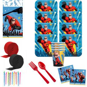 Incredibles 2 Deluxe Tableware Kit (Serves 8)