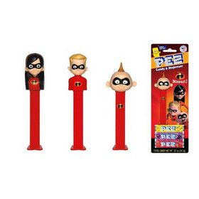 Incredibles 2 Pez Dispenser and Candy Set (Each)
