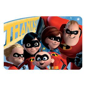 Incredibles 2 Thank You Cards (8)
