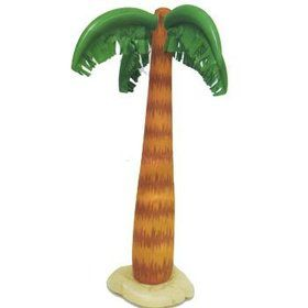 "Inflatable 35"" Palm Tree (Each)"