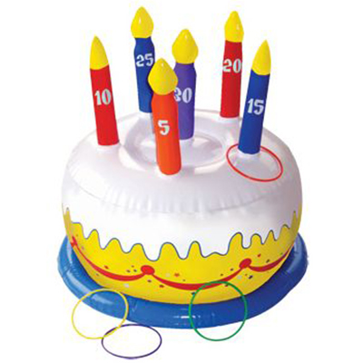 Inflatable Cake Game (each) - Party Supplies BB014055