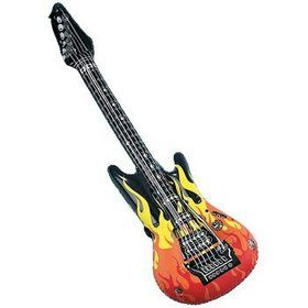 Inflatable Flame Guitar (each)