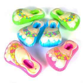 Inflatable Flip Flop Feet