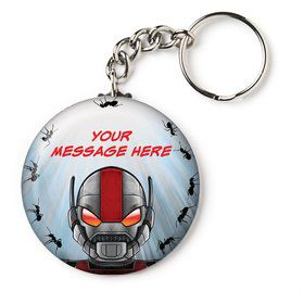 "Insect Man Personalized 2.25"" Key Chain (Each)"