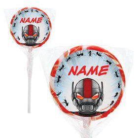 "Insect Man Personalized 2"" Lollipops (20 Pack)"