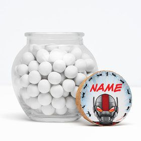 "Insect Man Personalized 3"" Glass Sphere Jars (Set of 12)"