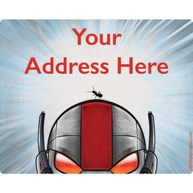 Insect Man Personalized Address Labels (Sheet of 15)