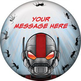 Insect Man Personalized Button (Each)