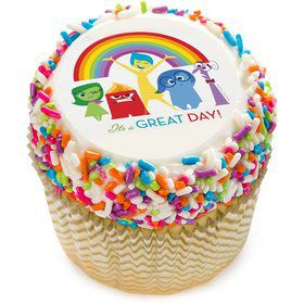 """Inside Out 2"""" Edible Cupcake Topper (12 Images)"""