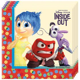 Inside Out Lunch Napkins (20 Count)
